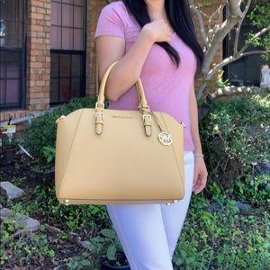 Michael Kors Ciara LG TZ Satchel Bag